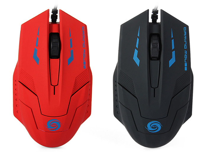 1.4m Cable 3D USB Wired Optical Gaming Mouse with 3000DPI for Desktop Laptop