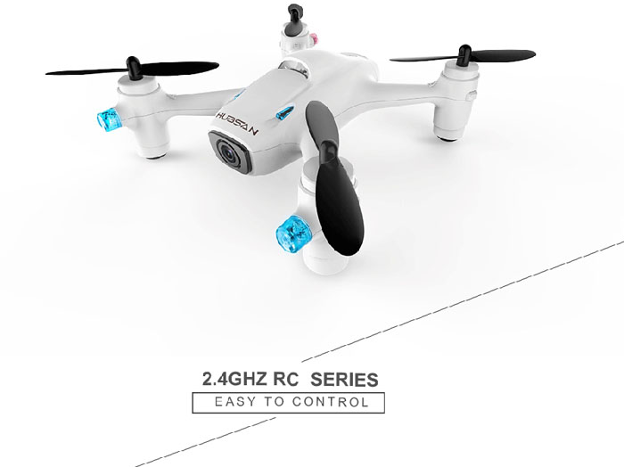 RC Quadcopter UFO Hubsan X4 Camera Plus H107C+ 2.4GHz con Camera 720 HD