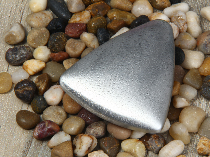 Stainless Steel Soap Triangle Shape Smell Deodorizing Hands