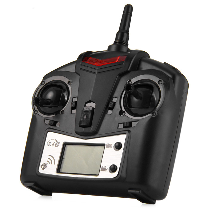 JJRC JJ - 1000 / 1000A H21 2.4G 6CH Transmitter with LCD Display for RC Aircraft Models