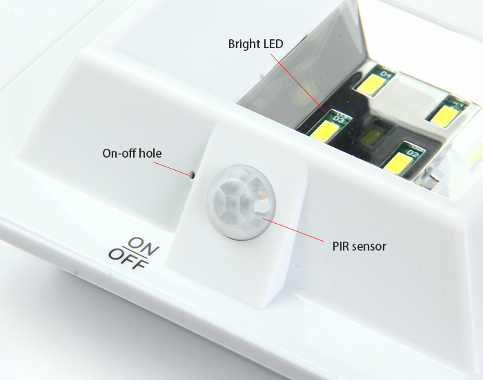 Yy104 Solar Pir Sensor Light 11 50 And Free Shipping