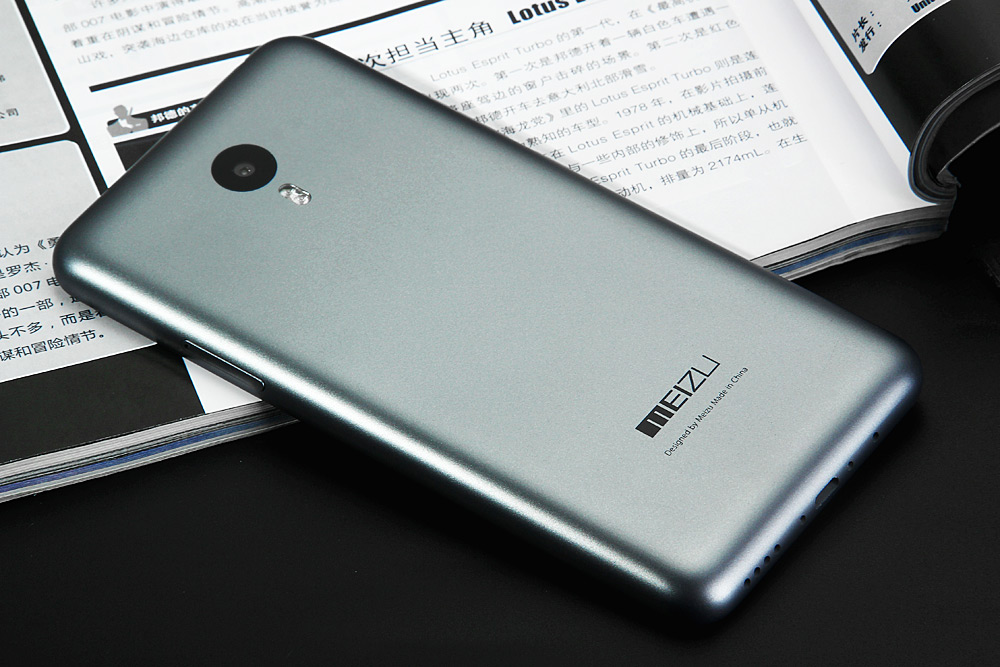 MEIZU M2 Note International Edition Android 5.0 Lollipop 4G LTE Phablet 5.5 inch FHD IPS Screen MTK6753 64bit Octa Core 1.3GHz 2GB RAM 16GB ROM 13.0MP Back Camera