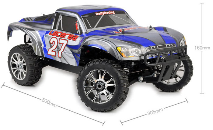 HSP 94063 1/8 Scale 2.4GH 4WD RC Electrical Truck Upgraded Version