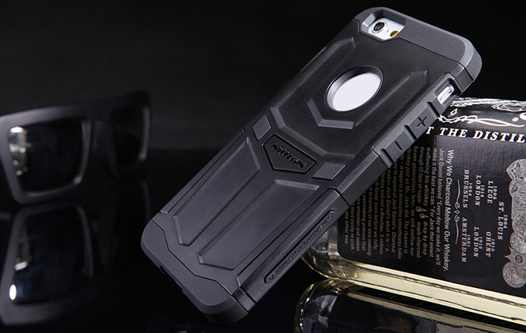 Nillkin TPU and PC Material Phone Back Cover Case with Hollow Out Design for iPhone 6 iPhone 6S - 4.7 inch