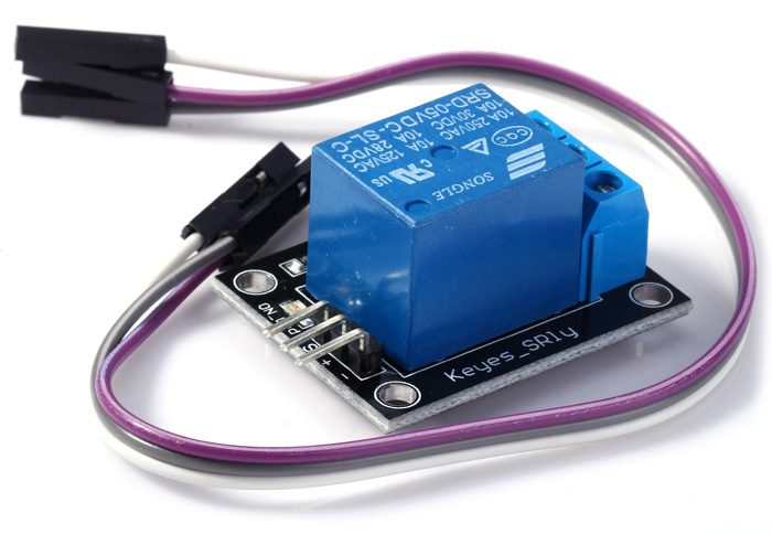 KEYES 5V Relay Module TTL Signal Power Light Transistor Drive with Dupont Line for Arduino Lovers