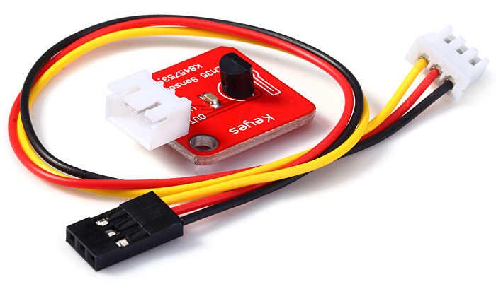 KEYES KY-051 LM35 Temperature Analog Sensor Module with Dupont Line for Gardening Home Alarm System