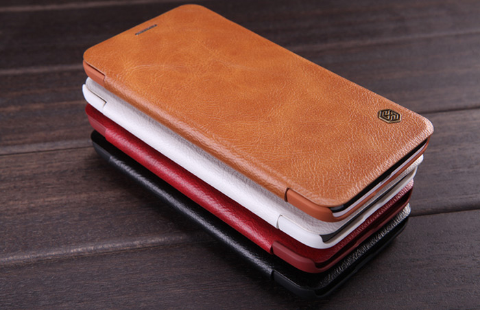 Nillkin PU and PC Material Solid Color Cover Case with Card Holder Function for Asus Zenfone 2 ( ZE551ML / ZE550ML )