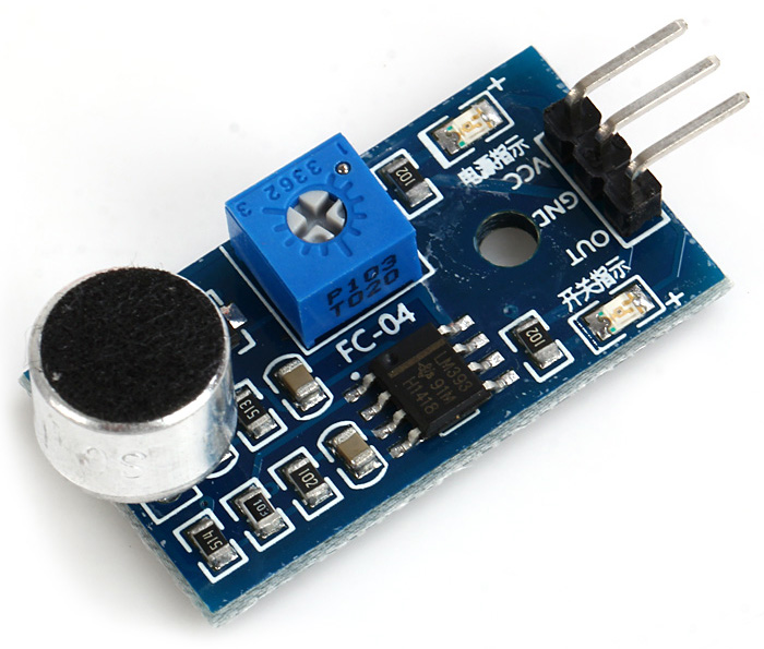 Sound Detection Sensor Module 1 Channel Voice Audio Checking for Arduino DIY Projects