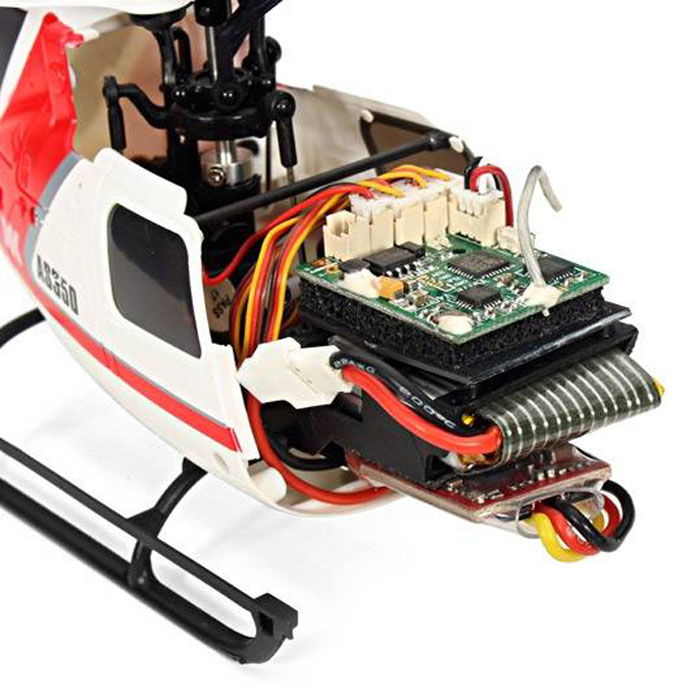 XK K123 - B 6CH RC 3D Aerobatic Flybarless Helicopter BNF Brushless Set High Power Lipo Battery