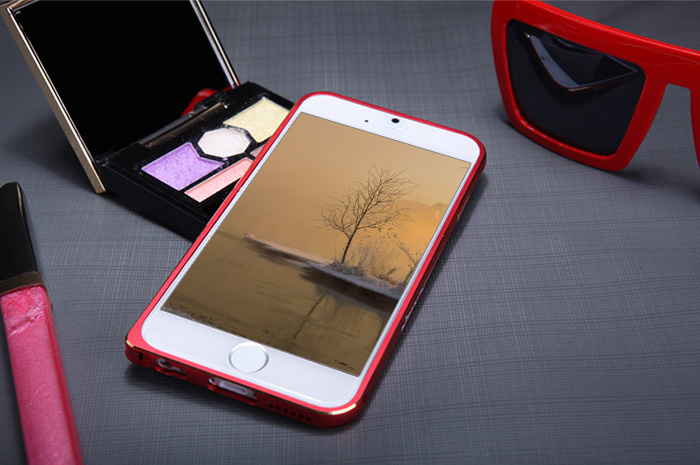 Nillkin Metal Material Frame Style Bumper Case with Ultrathin Design for iPhone 6 - 4.7 inch