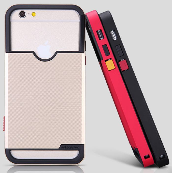 Nillkin TPU and Plastic Material Phone Back Cover Case with Photograph Design for iPhone 6 - 4.7 inch