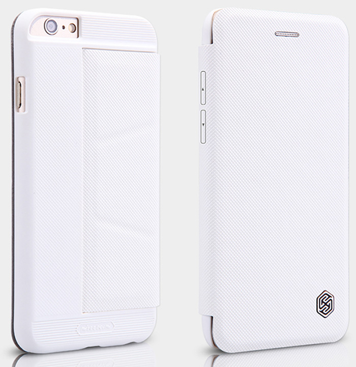 Nillkin PU and PC Material Solid Color Cover Case with Stand Card Holder Function for iPhone 6 Plus - 5.5 inch