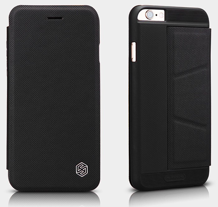 Nillkin PU and PC Material Solid Color Cover Case with Stand Card Holder Function for iPhone 6 - 4.7 inch