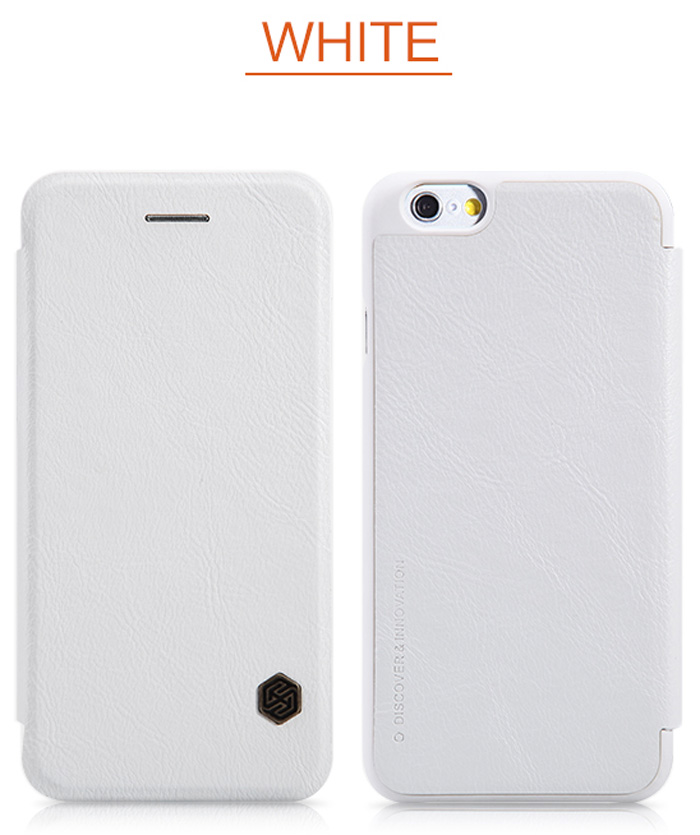 Nillkin PU and PC Material Solid Color Cover Case with Card Holder Function for iPhone 6 Plus iPhone 6S Plus - 5.5 inch
