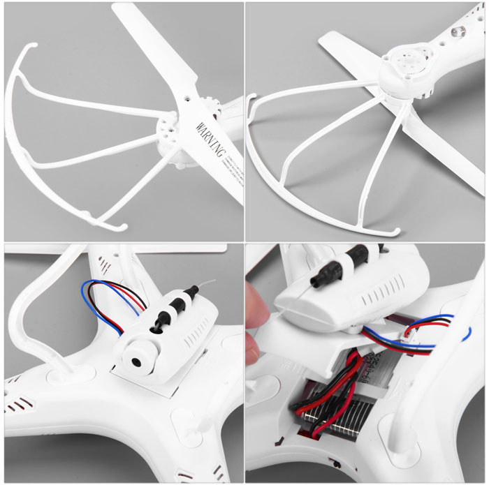 D97 2.4GHz 4CH 6-Axis Gyro 3D Aerobatic RC Quadcopter RTF  CAM Not Included