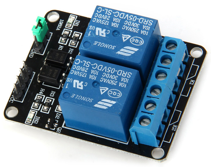 KEYES MD0004 Relay Module 2-CH 5V DIY Parts for Arduino Electronic