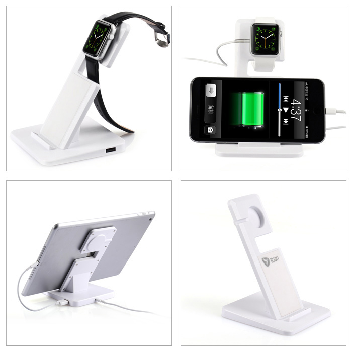 Itian Fashionable Itian Sloped Charger Stand with USB Cable for Apple Watch