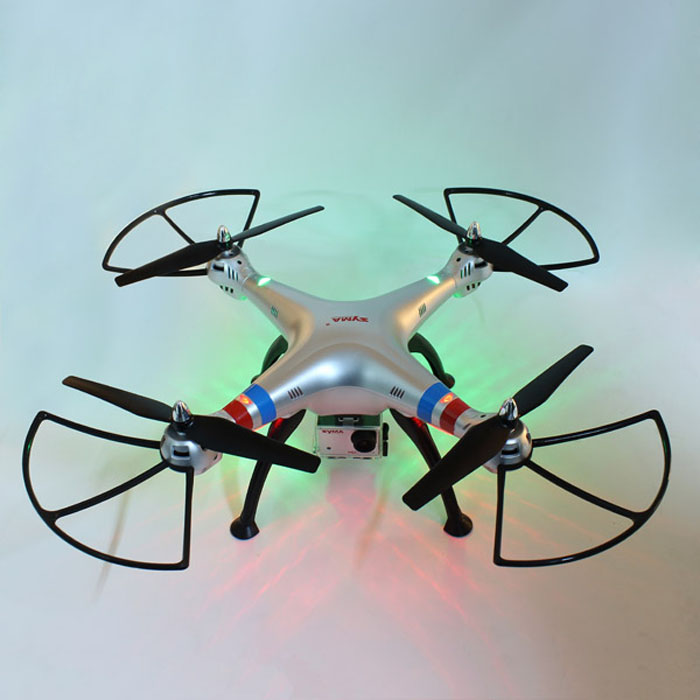 SYMA X8G Headless Mode 2.4GHz 6 Axis Gyro RC Quadcopter with 8.0MP Camera 3D Roll Stumbling Function EU Plug