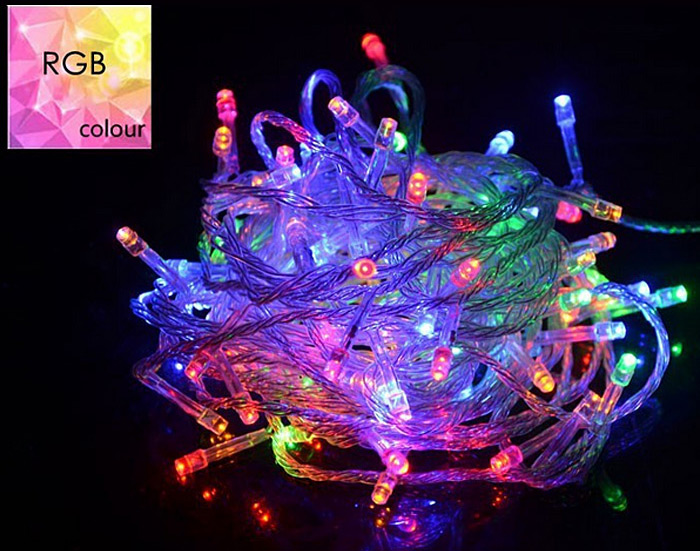 10M 100 - LED 8 Modes LED String Light for Christmas Tree Decoration ( 6W AC 110V US Plug )