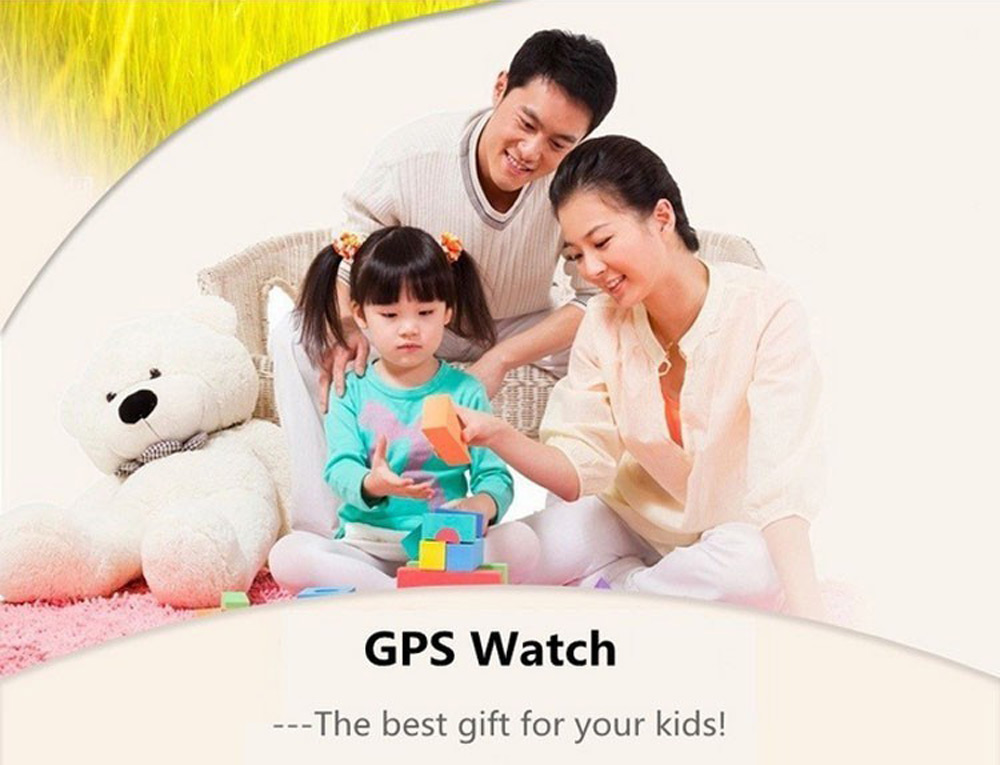 T18 Water Resistant Children Smartwatch with SOS Button Anti-lost Security Monitor Support iOS Android
