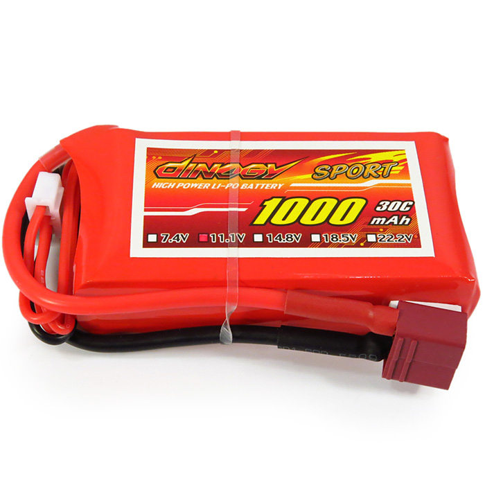 Giant Power 3S / 11.1V 1000mAh 30C Battery for Remote Control Helicopter / Airplane Glider