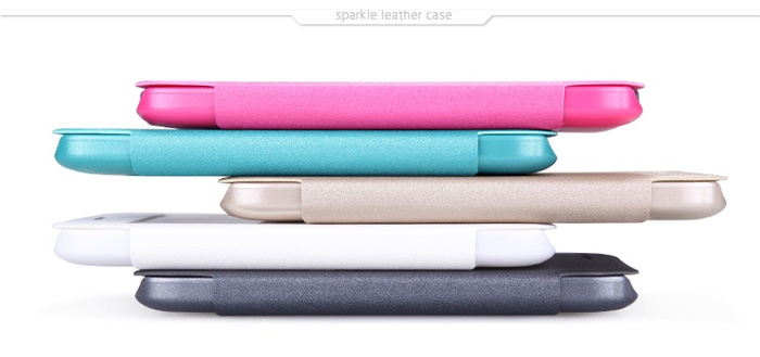 Nillkin PU and PC Material Solid Color Cover Case with View Window for Samsung Galaxy Core Prime G360
