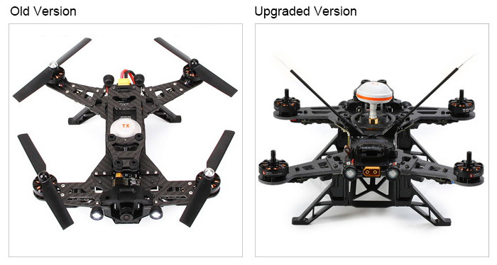 walkera runner 250 upgraded diy bnf set 250 size assembly racing quadcopter with esc    power