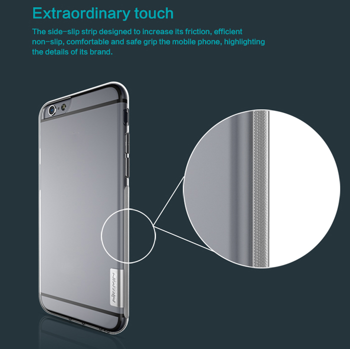 Nillkin Ultra Thin TPU Protective Back Cover Case with Transparent Design for iPhone 6 iPhone 6S - 4.7 inch