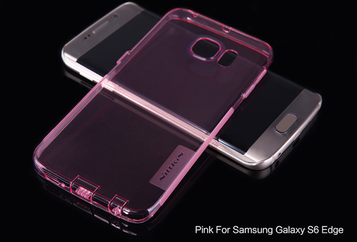 Nillkin Ultra Thin TPU Protective Back Cover Case with Transparent Design for Samsung Galaxy S6 Edge