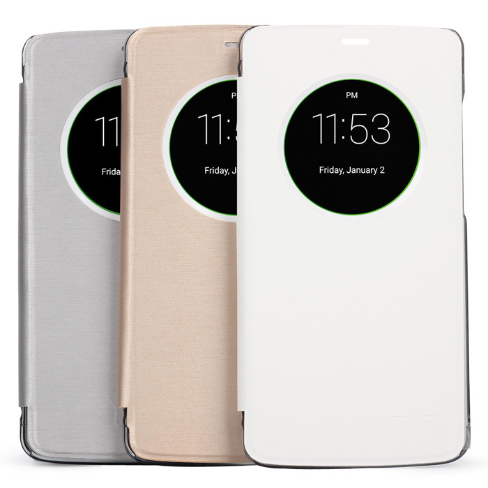 Spare View Window Leather Protective Case for Elephone P8000