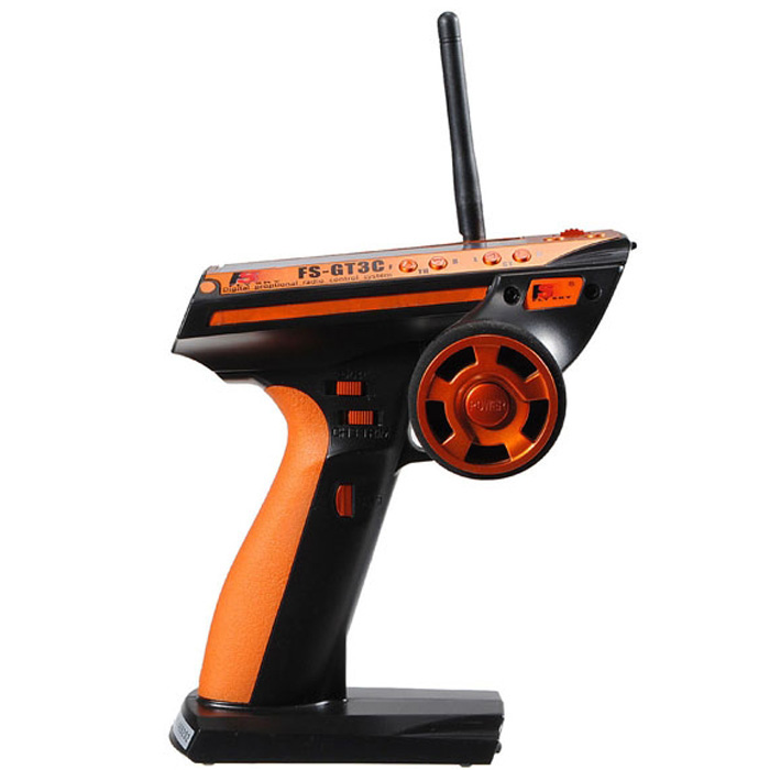 Flysky FS - GT3C 3CH 2.4GHz Remote Control with Receiver for RC Car / Boat