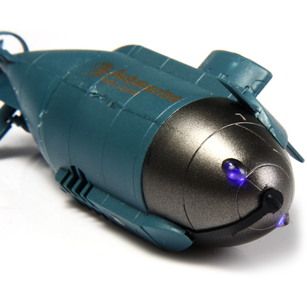 777 - 216 Wireless 40MHz Remote Control Mini Submarine Pigboat Model Toy