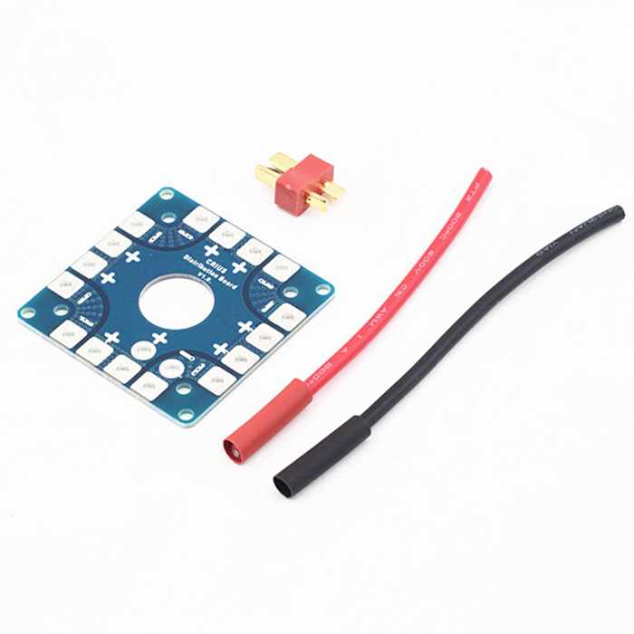 H250 Glassy Carbon DIY Airframe with EMAX MT2204 Motor / 12A ESC / CC3D FC - US Plug