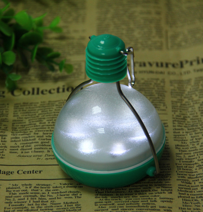 N300 Intelligent 7 LEDs 72Lm Solar Light IP55 Water Resistant Garden Camping Lamp