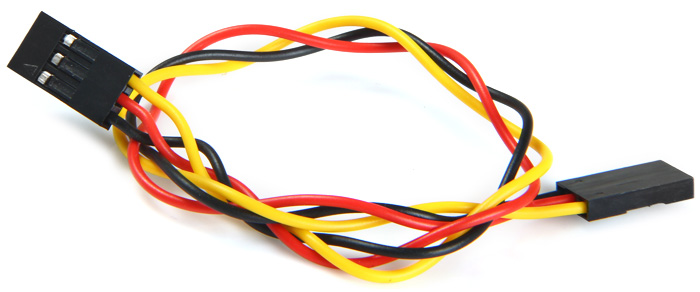 Dupont Jumper Wire 3 Pin Female to Female Cable 20cm 2.54mm Pitch for Arduino