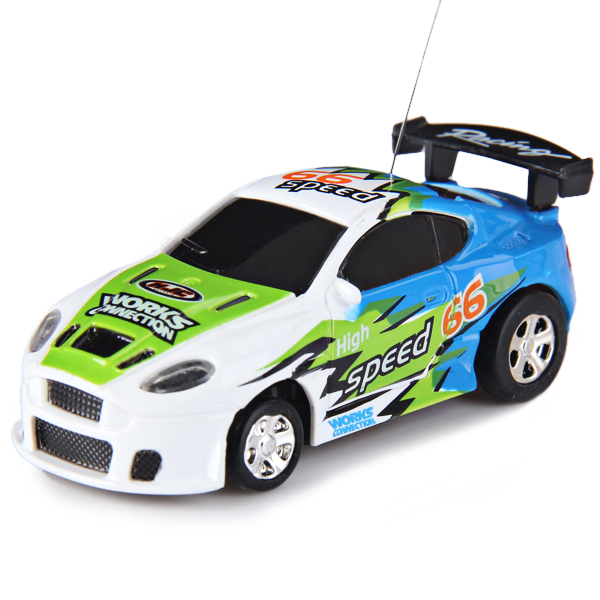 Coke Can Shape Remote Control Simulation Racing Car Toy