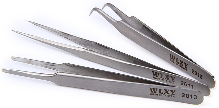 3 in 1 Wlxy Tweezer Set Stainless Steel with Standard / Eagle / Large Style