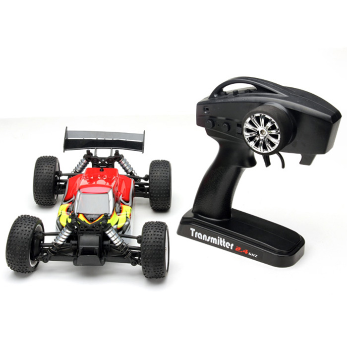 YiKong 1 / 18 Scale 4WD 2.4G Brush Buggy TROO E18XB - V2 RC Car US Plug