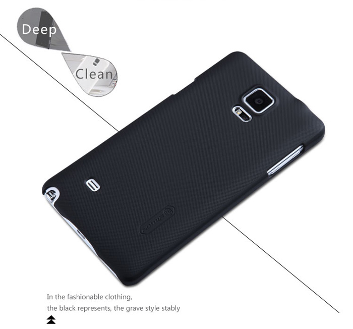 Nillkin Hard PC Material Back Cover Case with Frosted Surface for Samsung Galaxy Note 4 N9100