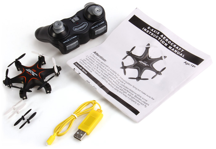 JJRC H18 6 Axis Gyro 4CH 2.4G Mini RC Hexacopter with 3D Flips Rolls for RC Enthusiasts