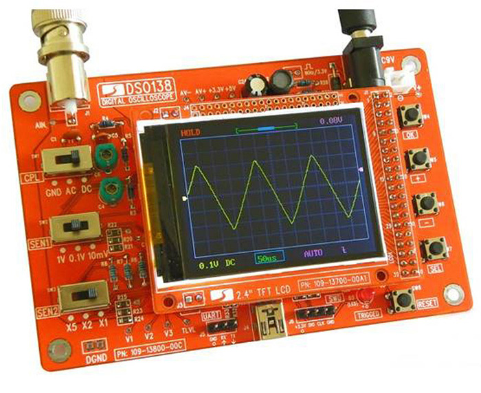 DSO138 Digital Oscilloscope Electronic Learning Kit for DIY