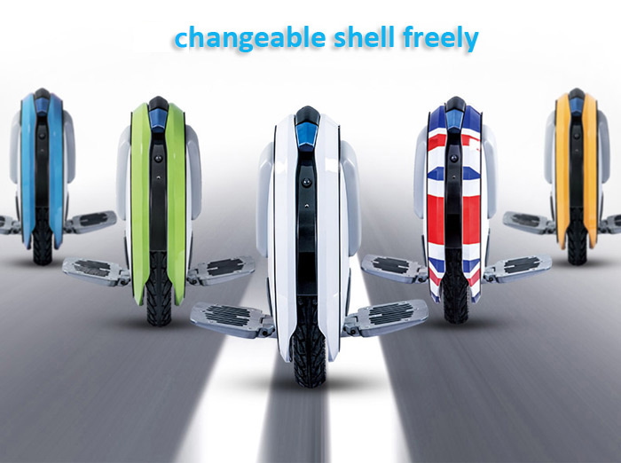 Ninebot One E+ Unicycle AZ91D Magnesium Alloy Made with Intelligent Safe Warning System for Working