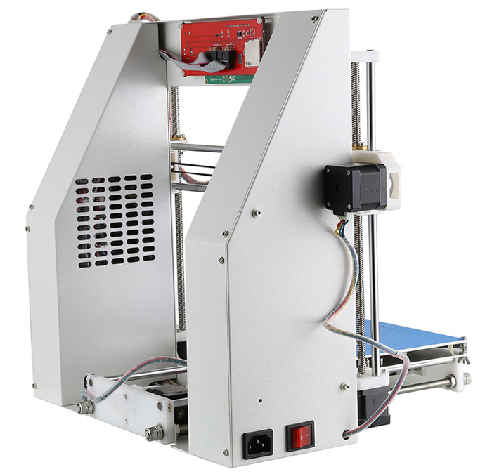 A-3 3D Printer Sheet Metal Structure Support SD Card Off-line Print Compatible with Win XP / 7 / 8