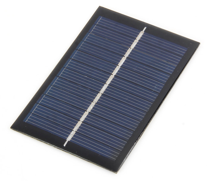 0.6W 6V DIY Solar Panel Charger for Battery Phone Outdoor Camping Necessary