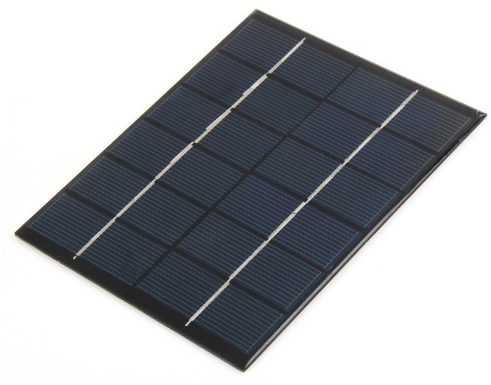 2W 6V DIY Solar Panel Charger for Battery Phone Outdoor Camping Necessary
