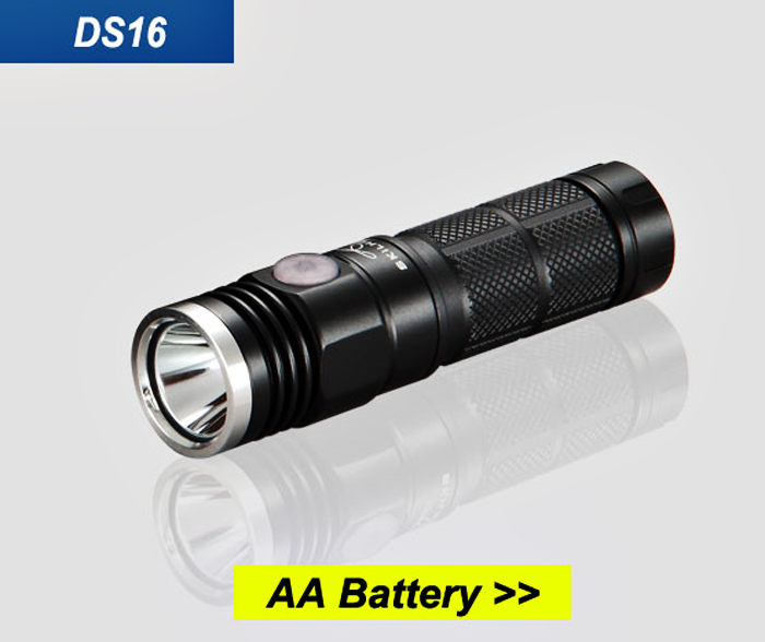 Skilhunt DS16 CREE XP - L 500Lm 5 Modes Waterproof EDC LED Flashlight Headlamp ( 1 x 14500 / AA Battery )
