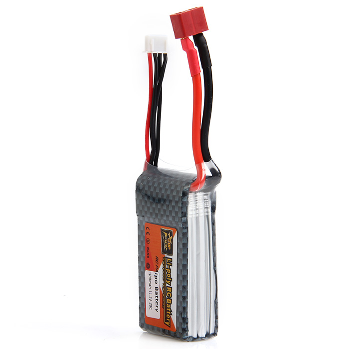 ZOP Power 11.1V 1500mAh 20C Lipo Battery T Plug