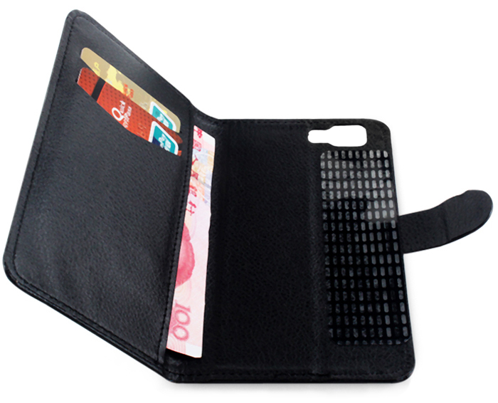 Practical PU Leather Stand Function Protective Case with Card Slot for DOOGEE X5 / X5 Pro