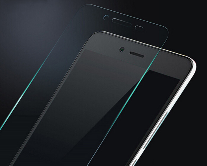 XIAOMI RedMi Note 2 Transparent 0.26mm Tempered Glass Film Protector