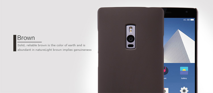 Nillkin Hard PC Material Back Cover Case with Frosted Surface for OnePlus 2